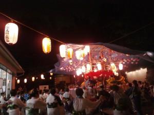 八坂神社盆踊り