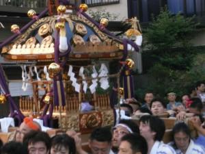 根岸淡島神社の神輿